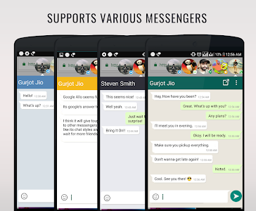 screenshot of DirectChat (ChatHeads for All) version 1.0.7