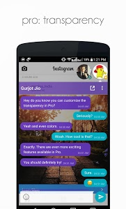 screenshot of DirectChat (ChatHeads for All) version 1.3.5