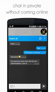 screenshot of DirectChat (ChatHeads for All) version 1.6.3