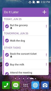 Download Do It Later: Tasks & To-Dos 2.13.0.26_160219 APK