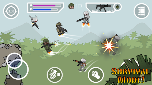 screenshot of Doodle Army 2 : Mini Militia version 4.2.8