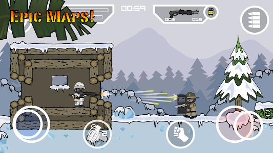 screenshot of Doodle Army 2 : Mini Militia version 2.2.6