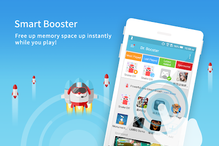 screenshot of Dr. Booster - Boost Game Speed version 2.0.1077