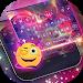 Dreamer Galaxy Emoji Keyboard Theme