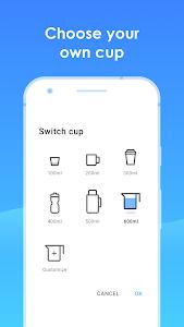 screenshot of Drink Water Reminder: Water Tracker & Alarm version 1.2.8