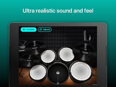 Download Drums: real drum set music games to play and learn 2.04.01 APK