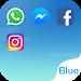 Download Dual Space - Multi Accounts & Fresh Blue Theme 1.3.1 APK