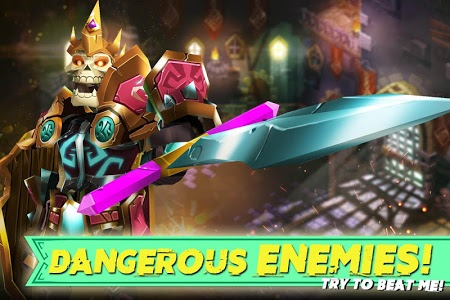 screenshot of Dungeon Legends - PvP Action MMO RPG Co-op Games version 3.10