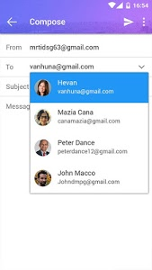 screenshot of Email - email mailbox version 5.1.1