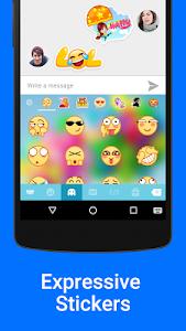 screenshot of Kika Emoji Keyboard Pro + GIFs version Varies with device