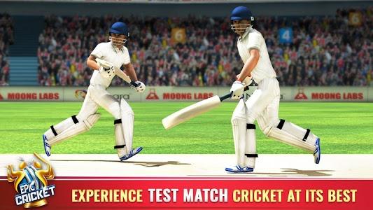 screenshot of Epic Cricket - Best Cricket Simulator 3D Game version 2.44