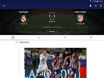 screenshot of Eurosport version Varies with device