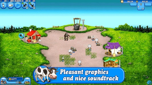 screenshot of Farm Frenzy Free: Time management game version 1.2.70
