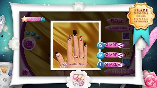 Download Fashion Nails 3D Girls Game 8.0 APK