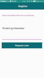 screenshot of Fast Loans 24/7 version 1.7.0