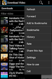 screenshot of Fastest Video Download version 1.2