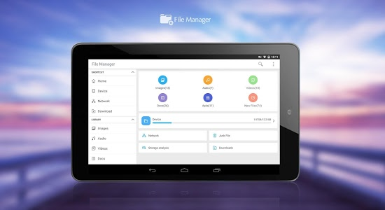 screenshot of CM FILE MANAGER version Varies with device