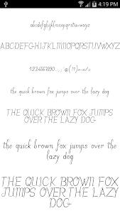 Download Fonts for FlipFont Romance 3.23.0 APK