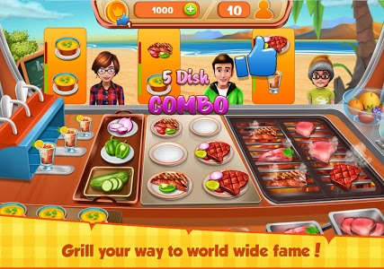 Download Food Truck - The kitchen Chef's Cooking Game 1.8 APK