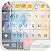 Download Free Glass Emoji Keyboard Skin 1.8.2 APK