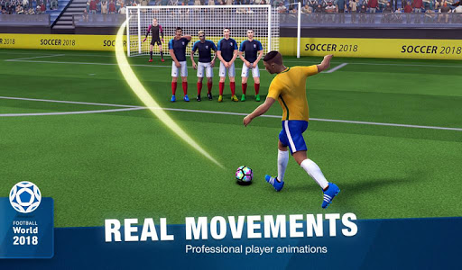 Download FreeKick Soccer World 2018 1.7.7 APK