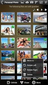 screenshot of Gallery Lock (Hide pictures) version 4.9.1