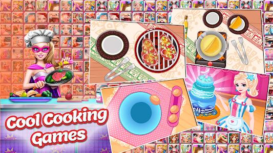 screenshot of Plippa games for girls version
