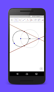 screenshot of GeoGebra Graphing Calculator version 5.0.232.0