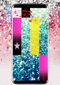 screenshot of Glitter Piano Tiles version 2.1
