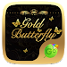 Download Gold Butterfly Keyboard Theme 4.2 APK