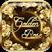 Download Golden rose diamond Keyboard 10001002 APK