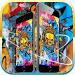 Download Golden skull theme graffiti 1.1.4 APK
