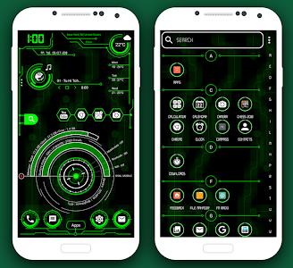 Download Hi-Tech Launcher 2018 - UI of Future, Theme, Fast 10.0 APK