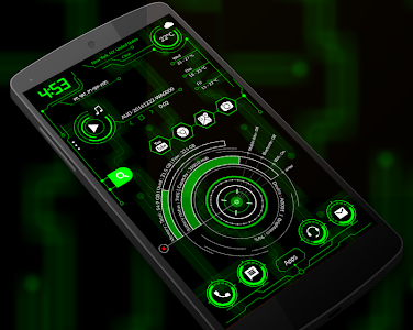 Download Hi-Tech Launcher 2018 - UI of Future, Theme, Fast 10.0 APK