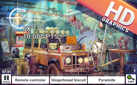screenshot of Hidden Objects House Cleaning – Rooms Clean Up version 2.1.1