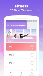 screenshot of Home Workout - Lose Weight In 30 Days version 1.2.7