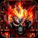 Download Horror skull Keyboard Theme Fire Skull 10001009 APK