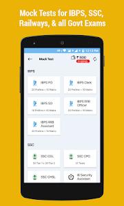 screenshot of IBPS Clerk, SO, SSC, Railway RRB: Exam Prep App version 2.4.0.9
