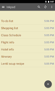 screenshot of Notepad & To do list version 4.3.19