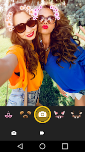 screenshot of Insta Square Size - No Crop Face Live Cam version 1.4.0