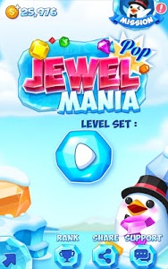 screenshot of Jewel Pop Mania:Match 3 Puzzle version 2.6.27
