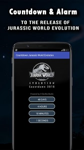 screenshot of Jurassic World Evolution Countdown- Jurassic World version 2.3
