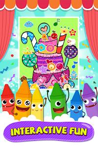 screenshot of Pinkfong Coloring Fun version 25