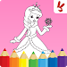 Download Kids coloring book: Princess 1.8.2 APK