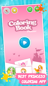 Download Kids coloring book: Princess 1.8.2 APK