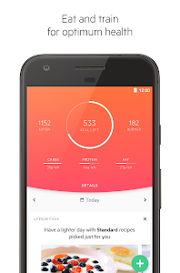 screenshot of Lifesum: Healthy lifestyle app version Varies with device