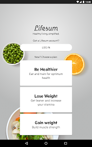 screenshot of Lifesum - The Health Movement version Varies with device