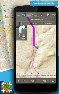 screenshot of Locus Map Pro - Outdoor GPS version 3.16.0