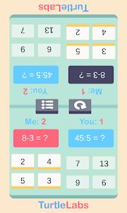 screenshot of Math Challenge FREE version 4.0