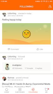 screenshot of Mi Community - Xiaomi Forum version 2.6.1